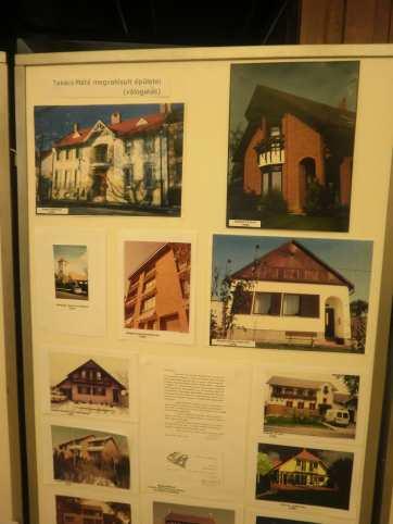 Takács Máté megvalósult építészeti tervei