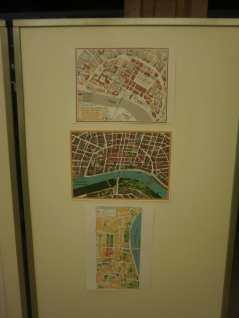 A szegedi Belváros: építések 1871 és 1941 közötti épületek; 3D-s panorámatérkép; városrekonstrukciók